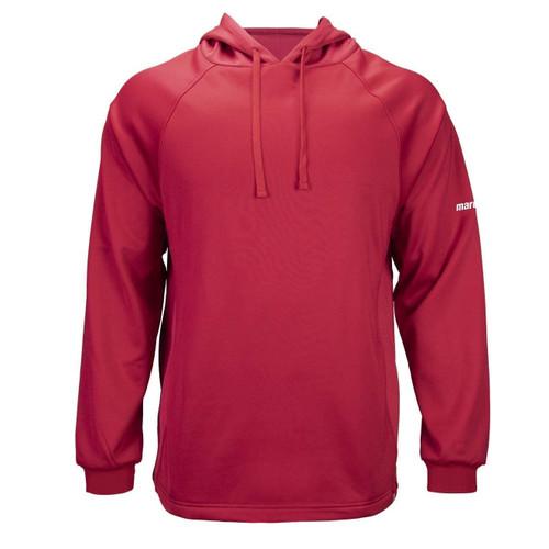 Marucci Sports - Men's Warm-Up Tech Fleece MATFLHTC Red Adult Large Baseball Hoodie