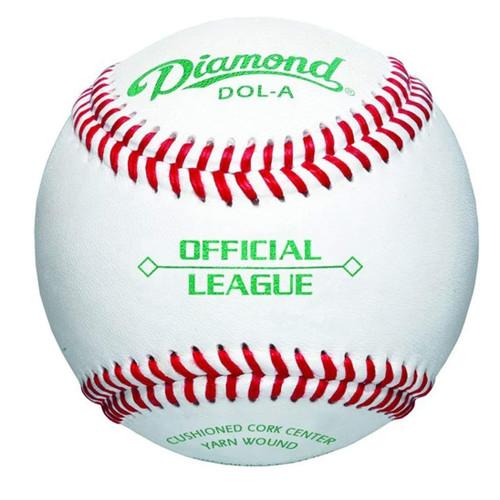 Diamond DOL-A Official League Leather Baseballs 1 Dozen
