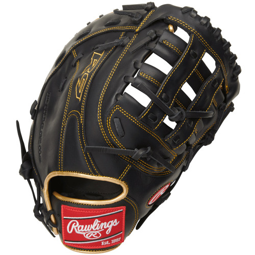 Rawlings R9 Series Baseball First Base Mitt Mod Pro H Web 12.5 inch Right Hand Throw