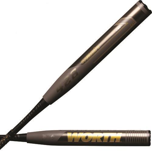 Worth MACH 1 13.5 XXL SSUSA Slowpitch Softball Bat 34 inch 27 oz