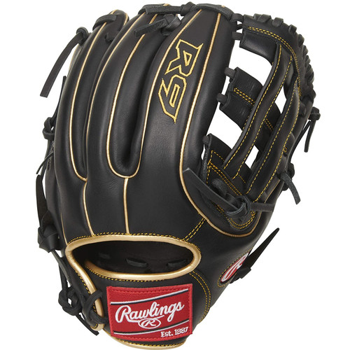 Rawlings R9 Baseball Glove 11.75 H Web Right Hand Throw