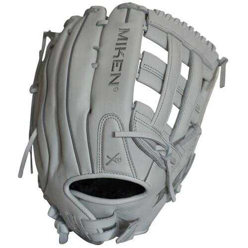 Miken Pro Series 14 Inch Softball Glove White Right Hand Throw