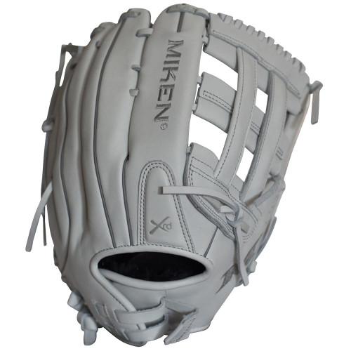 Miken Pro Series 15 Inch Softball Glove White Right Hand Throw