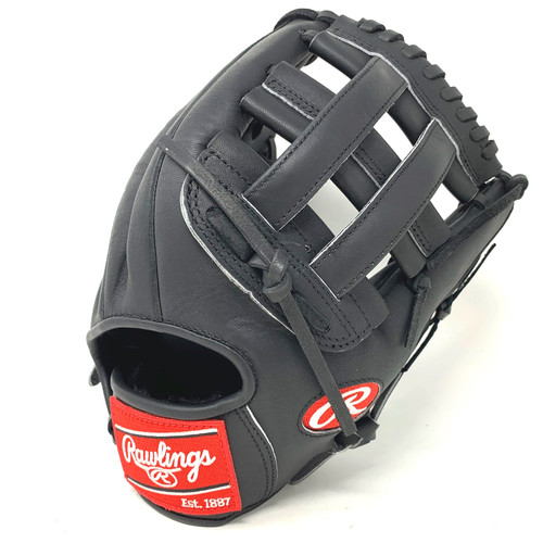 Rawlings Heart of the Hide Black Horween PRO1000HC Baseball Glove 12 inch Right Hand Throw
