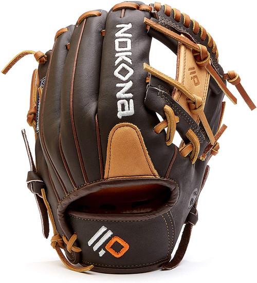 Nokona Alpha S-1150I Baseball Glove 11.5 Right Hand Throw