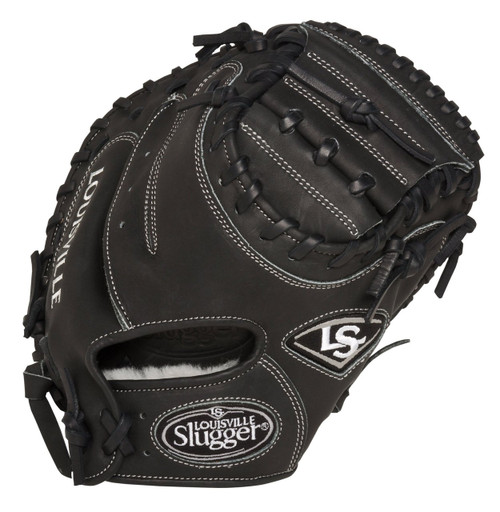 Louisville Slugger Pro Flare Black 32.5 inch Baseball Catchers Mitt (Right Handed Throw)