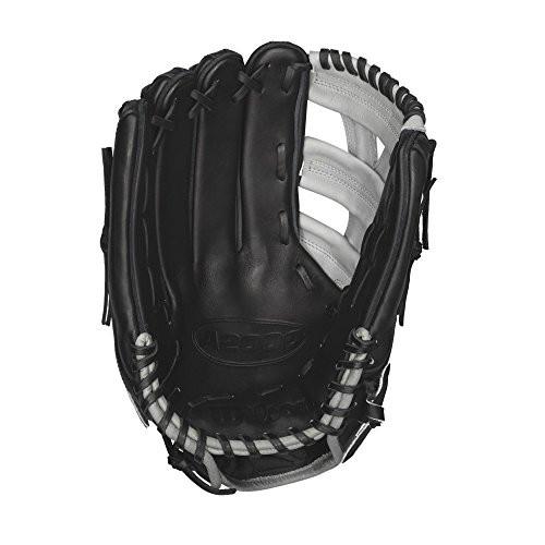 Wilson A2000 Puig Game Model BLGR 12.75 Baseball Glove (Right Hand Throw)