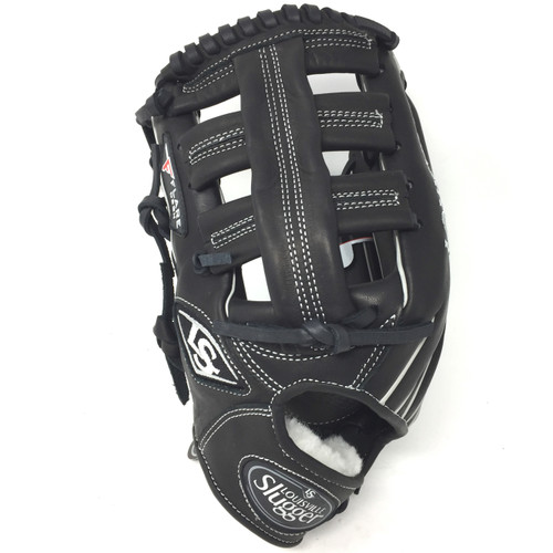 Louisville Slugger Pro Flare Black 12.75 in Baseball Glove Left Handed Throw