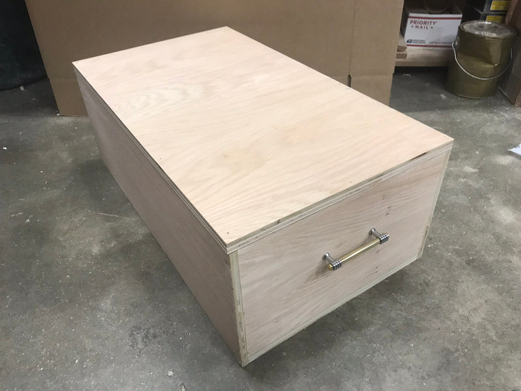 Pet Casket House Choose your size and Delivery time, Burial Box Natural Unfinished .