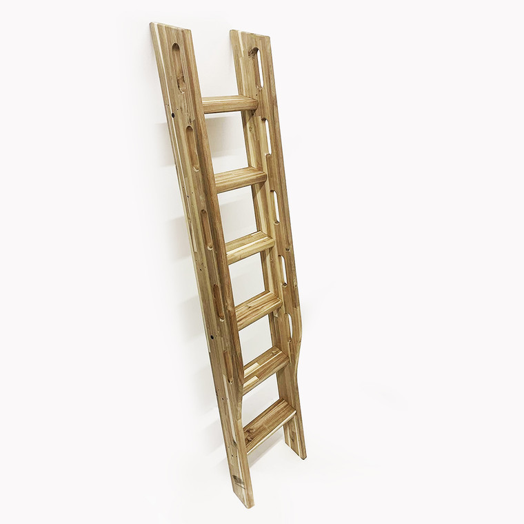 """1.5"""" Thick  MD2HD Heavy Duty Wood Ladder, Library Ladder, Unassembled, Choose Material and Size"""