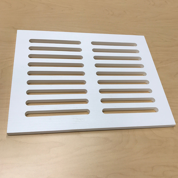 """PVC   Vent Cover - 3/4""""Thick"""