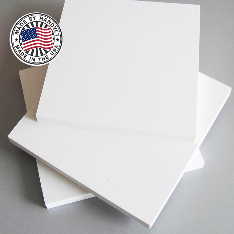 "White PVC Shelves Shelf - Closet Storage - 3/4"" tHick"