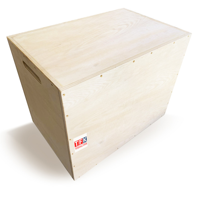 Wood Plywood Box, Fitness Wood Plyometric Jump Box, Wood Plyo Box for Exercise Training