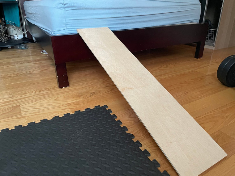 Unfinished Solid Plywood Dog, Cat Pet ramp for all bed