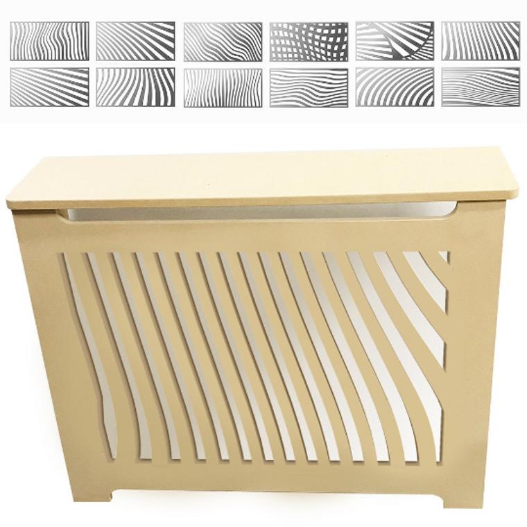 "Modern Radiator Cover Heating Cabinet - Custom Made - Model ""Masha"""
