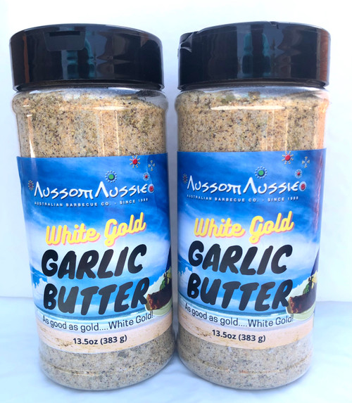 2 x White Gold Garlic Butter Rub (Shipping Included)