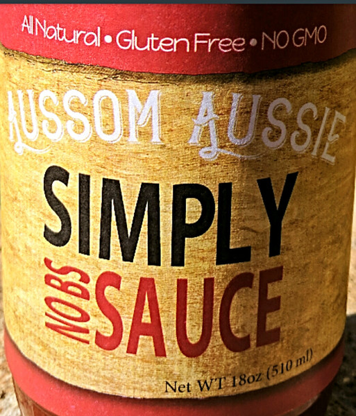Simply NO BS Sauce  Three Pack
