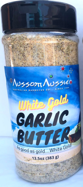 Garlic Butter Rub - White Gold