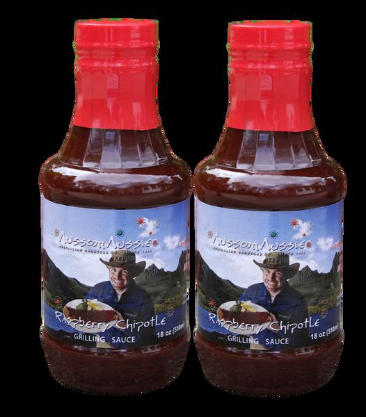 Raspberry Chipotle BBQ Sauce