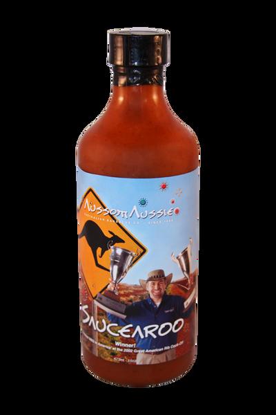 Saucearoo - Jalapeno & Habenaro hot pepper blend