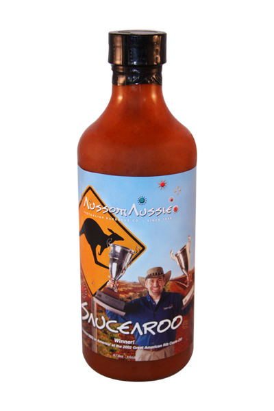 Saucearoo - Jalapeno & Habenaro hot pepper blend