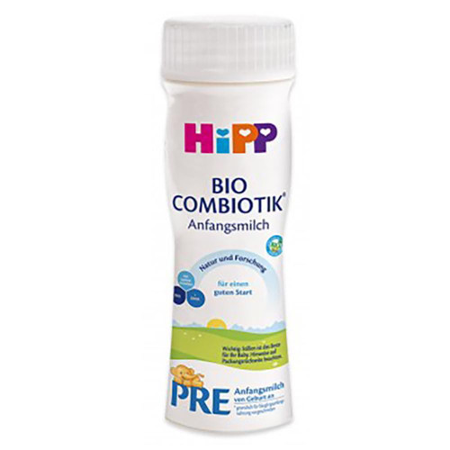 HiPP Pre Ready to Feed (200ml) Great to pack in your hospital bag or take on trips Free shipping or contactless delivery