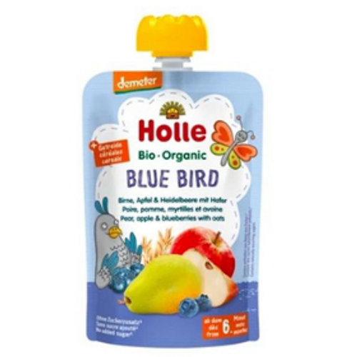 Holle Blue Bird Baby Food Puree
