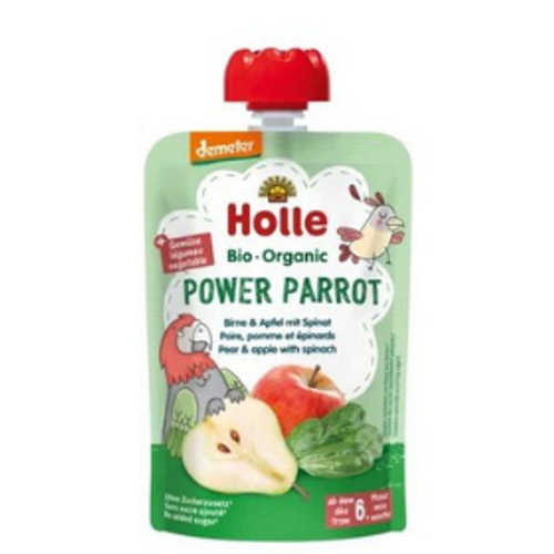 Holle Power Parrot Organic Demeter Quality Baby Food Puree