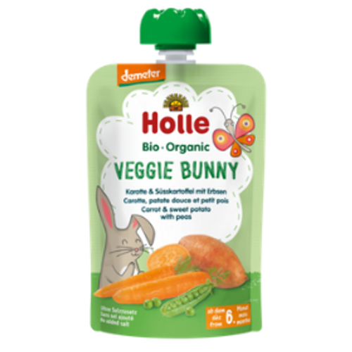 Holle Veggie Bunny Baby Pouch