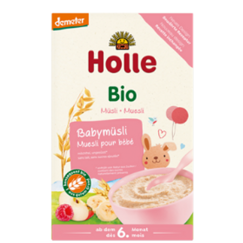 Holle Demeter Quality Muesli Baby Cereal