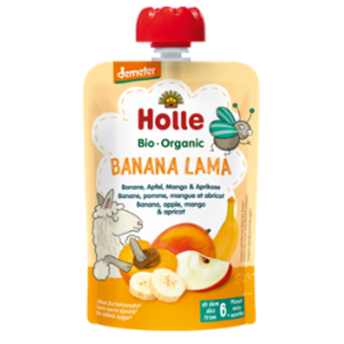 Holle Banana Lama Baby Food Bay Area Supplier