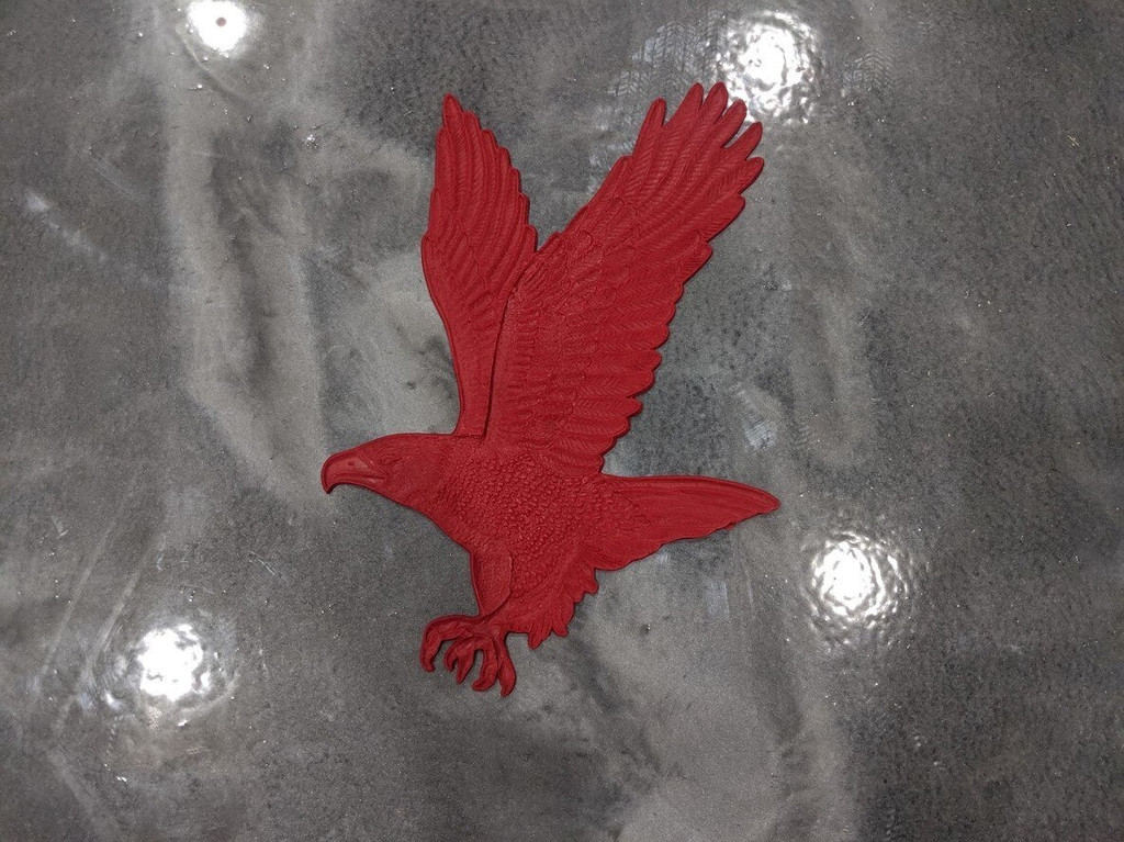 """Eagle Flight Accent Stamp 18"""" x 12"""""""
