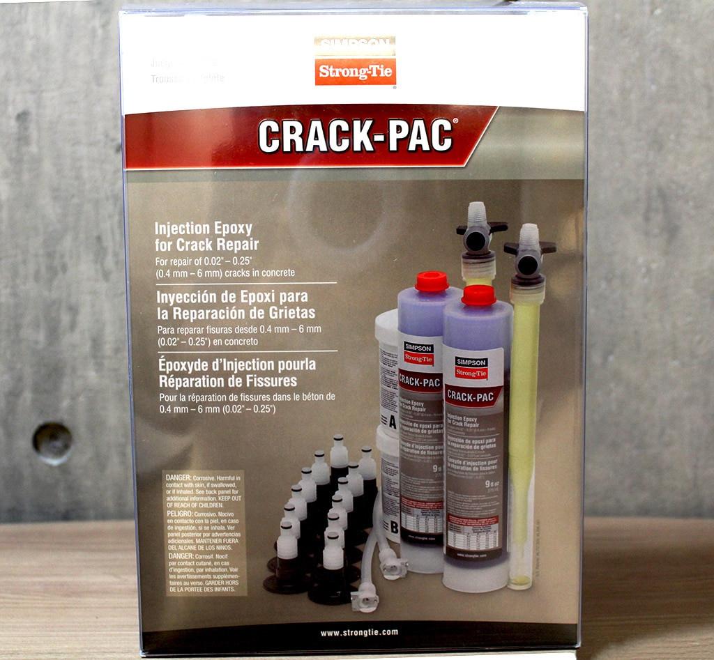 Crack-Pac Injection Epoxy