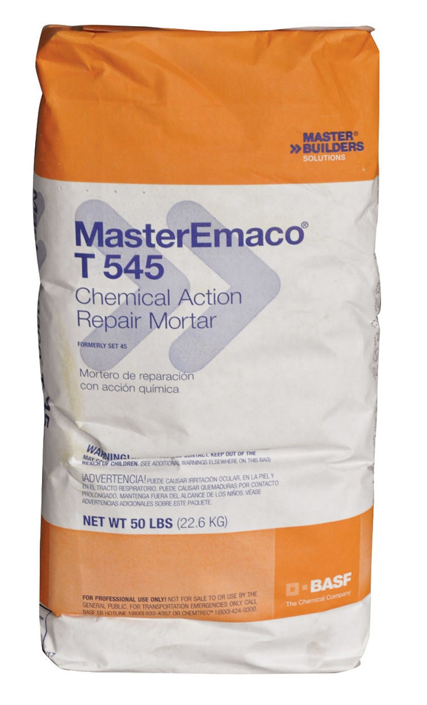 MASTER EMACO T545 RAPID SETTING CHEMICAL ACTION MORTAR