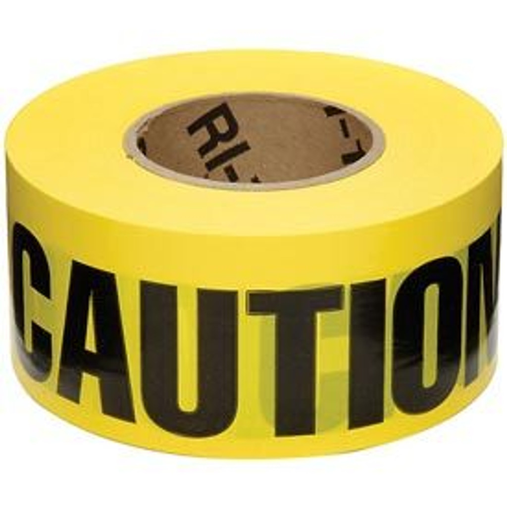Caution Tape - 1000ft Roll