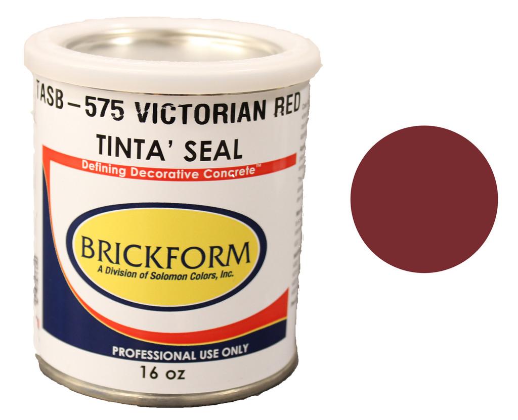 Tinta' Seal Victorian Red