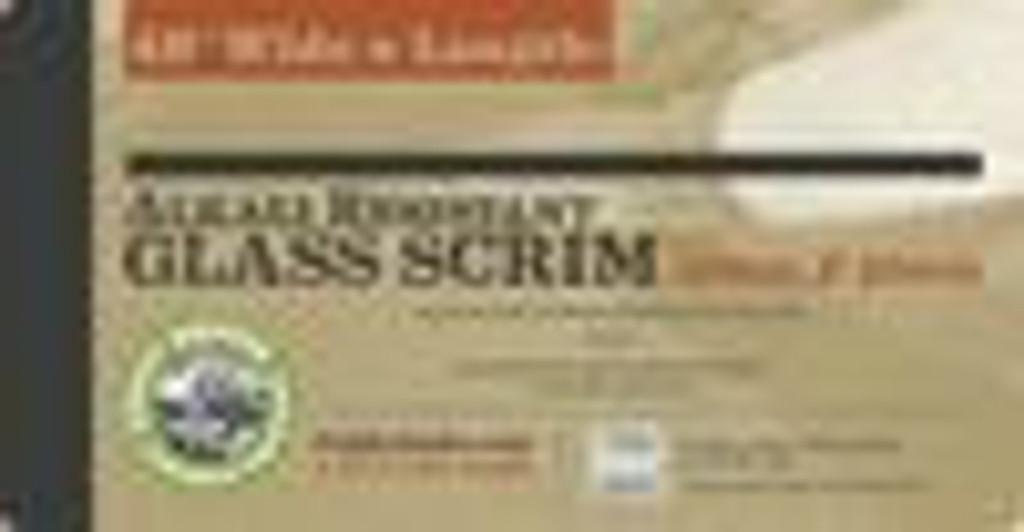 Alkali Resistant Glass Scrim
