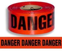 Danger Tape (Red) - 1000' Roll