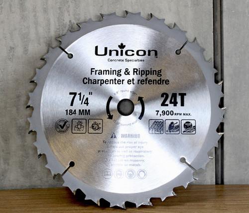 Unicon Wood Blade - Anti Kickback