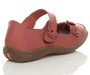 Back right side view of Coral Flat Comfort Flower Mary Jane Shoes