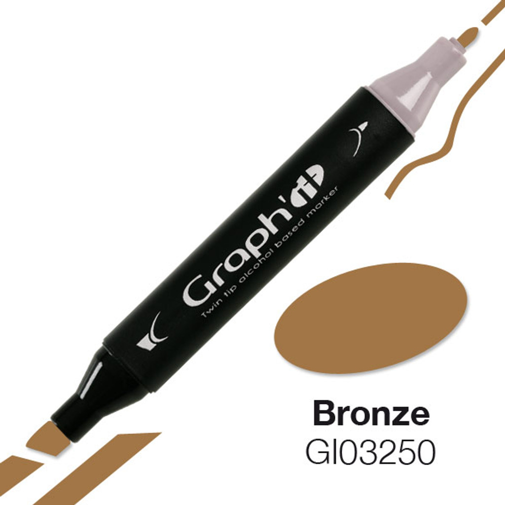 GRAPH'IT Alcohol based marker 3250 - Bronze