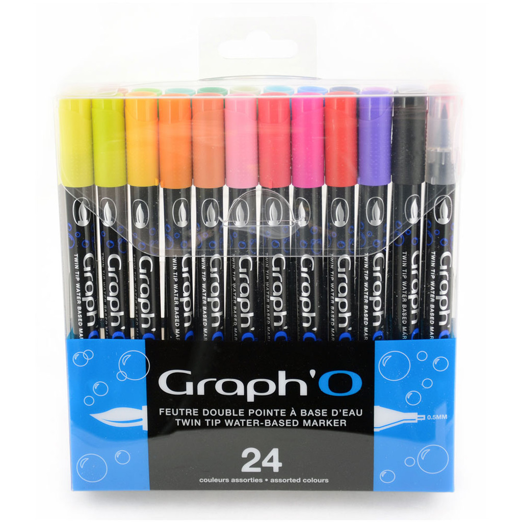 Graph'it Graph'O Set of 24 Essential colors