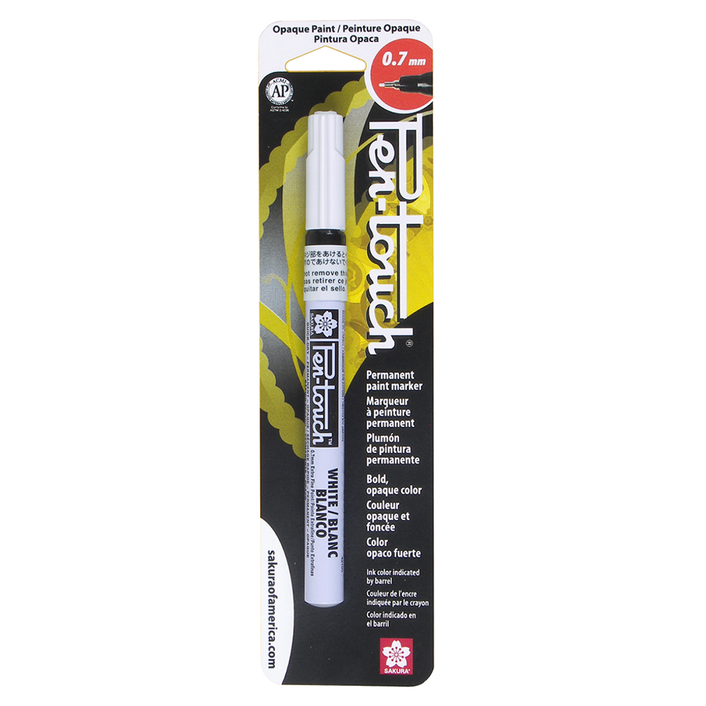 PENTOUCH EXTRA FINE 0.7MM - WHITE