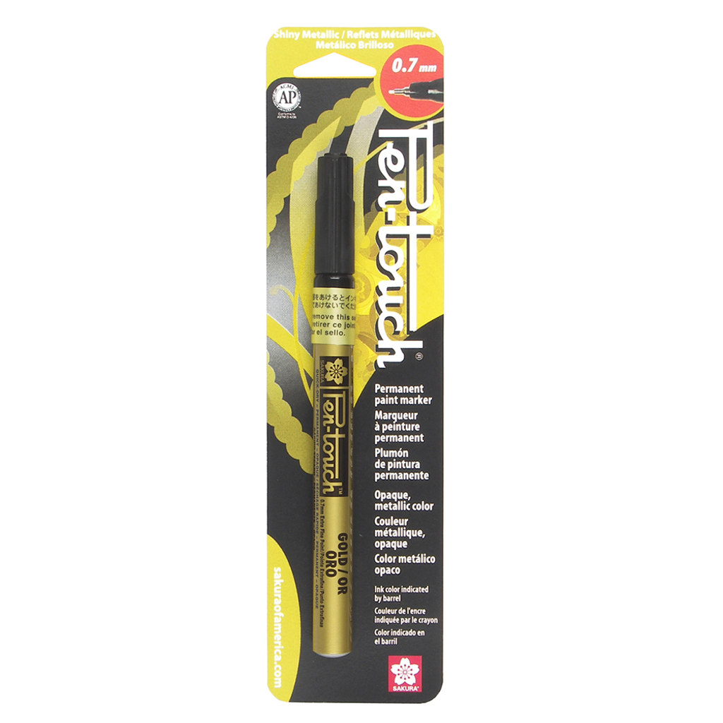 PENTOUCH EXTRA FINE 0.7MM - GOLD