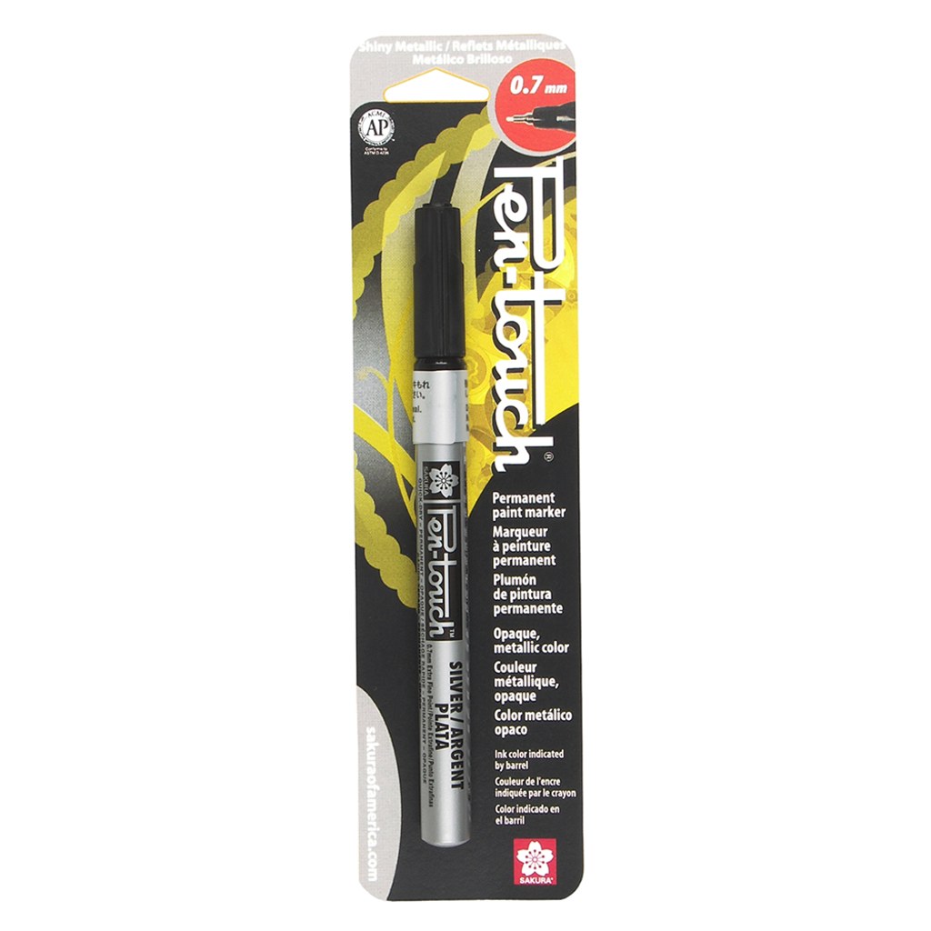 PENTOUCH EXTRA FINE 0.7MM - SILVER