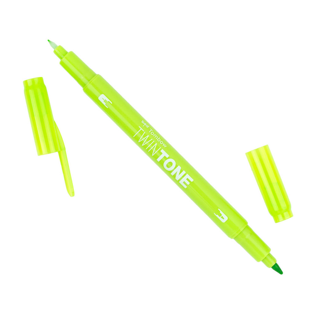 Tombow TwinTone Marker, 50 - Lime Green