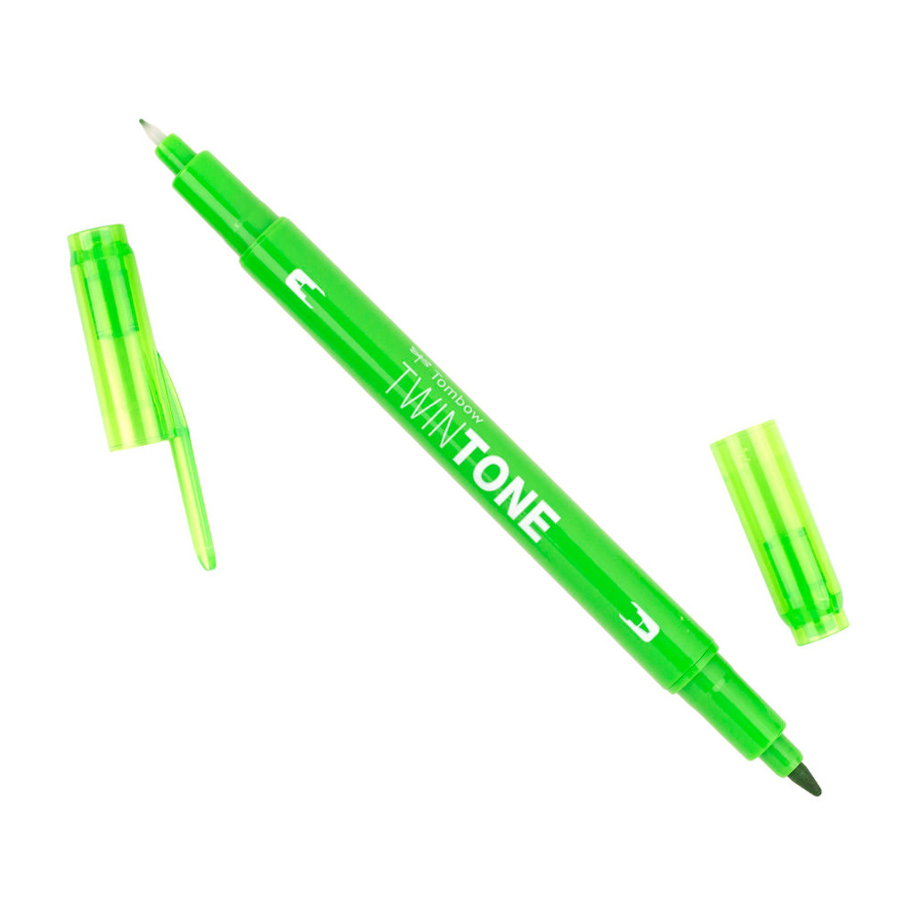 Tombow TwinTone Marker, 06 - Yellow Green