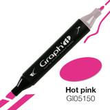 Graph'it alcohol based marker 5150 - Hot Pink