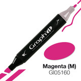 GRAPH'IT Alcohol based marker 5160 - Magenta (M)