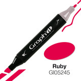 Graph'it alcohol based marker 5245 - Ruby